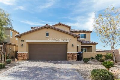 North Las Vegas Single Family Home For Sale: 5137 Shockwave Court