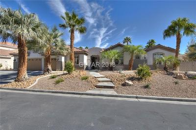 Las Vegas Single Family Home For Sale: 4850 Impressario Court