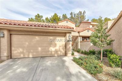 Las Vegas NV Condo/Townhouse For Sale: $290,000