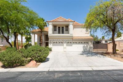Las Vegas Single Family Home For Sale: 6594 Solitary Avenue