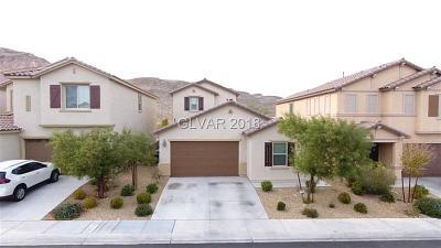 Las Vegas Single Family Home For Sale: 7345 Rainford Street