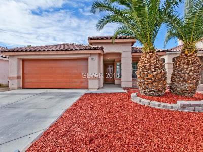 Las Vegas Single Family Home For Sale: 1229 Nugget Creek Drive