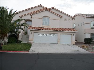 Las Vegas Single Family Home For Sale: 8413 Wild Diamond Avenue