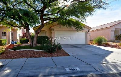 Las Vegas Single Family Home For Sale: 9309 Chilly Pond Avenue