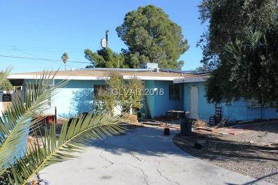 Las Vegas Single Family Home Under Contract - No Show: 2009 Griffith Avenue