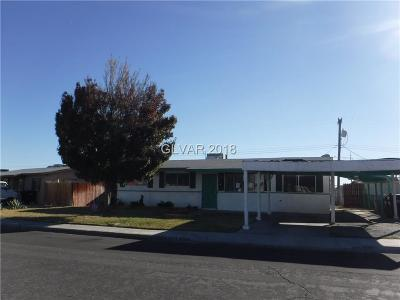 North Las Vegas Single Family Home For Sale: 1731 Helen Avenue