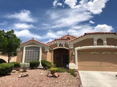 Las Vegas Single Family Home For Sale: 3440 Coconino Lane