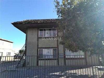 North Las Vegas Multi Family Home For Sale: 1404 21st Street