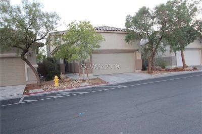 Las Vegas Single Family Home For Sale: 8795 Ashley Park Avenue