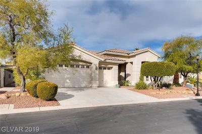 Las Vegas Single Family Home For Sale: 4775 Dream Catcher Avenue