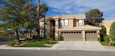 Las Vegas Single Family Home For Sale: 3991 Candleglow Court