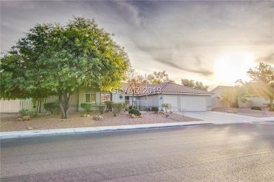 Las Vegas Single Family Home For Sale: 7401 Wittig Avenue