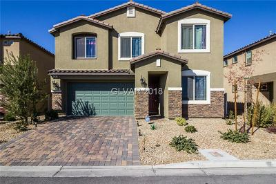 North Las Vegas Single Family Home For Sale: 5241 Golden Melody Lane