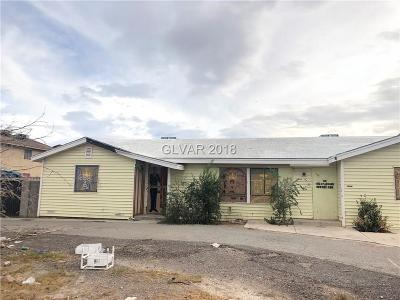 Las Vegas Single Family Home Under Contract - No Show: 4959 Owens Avenue