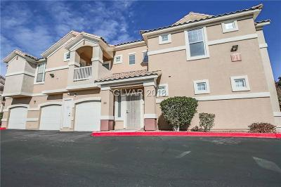 North Las Vegas Condo/Townhouse For Sale: 5855 Valley Drive #2101