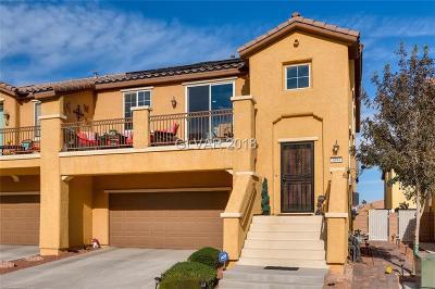North Las Vegas Condo/Townhouse For Sale: 3894 Blake Canyon Drive