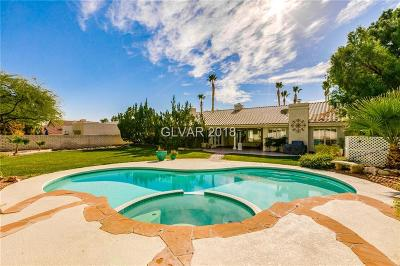 Las Vegas Single Family Home For Sale: 7420 Silver Palm Avenue