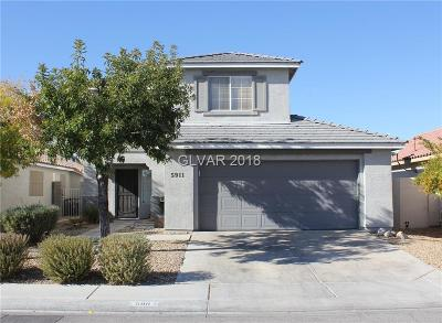 North Las Vegas Single Family Home For Sale: 5911 Red Dawn Street