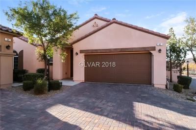 Henderson NV Single Family Home Under Contract - No Show: $310,000