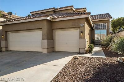 Las Vegas NV Single Family Home Under Contract - No Show: $366,000