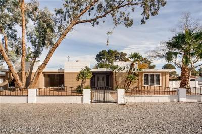 Clark County Single Family Home For Sale: 5430 W Eugene Avenue