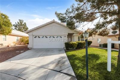 Las Vegas Single Family Home Under Contract - No Show: 5464 Patchwood Court