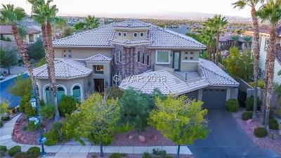Henderson, Las Vegas, North Las Vegas Single Family Home For Sale: 779 Clove Court