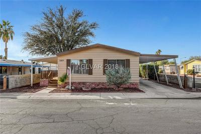Clark County Single Family Home For Sale: 3309 Jewel Cave Drive
