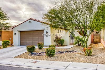 North Las Vegas Single Family Home For Sale: 5657 Serenity Haven Street