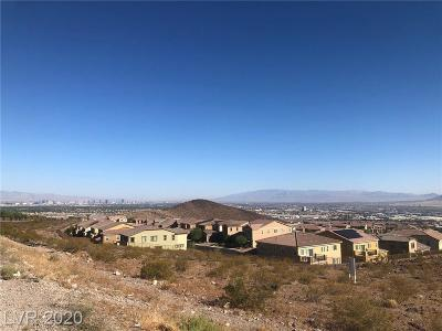 Henderson Residential Lots & Land For Sale: Palisades View