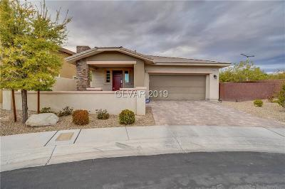 Las Vegas Single Family Home For Sale: 10482 Harvest Green Way