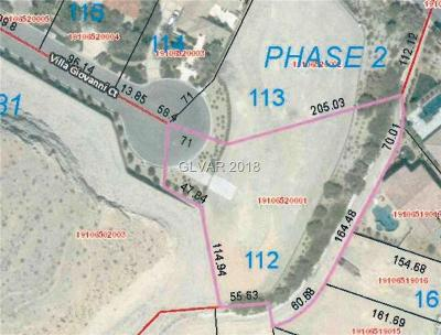 Las Vegas Residential Lots & Land For Sale: 11396 Villa Giovanni Court