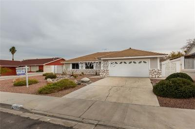 Las Vegas Single Family Home For Sale: 3969 Meadowglen Drive