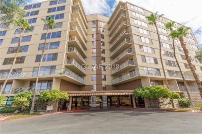 Las Vegas High Rise For Sale: 205 East Harmon Avenue #503