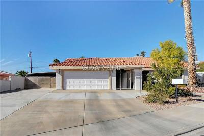 Boulder City Single Family Home Under Contract - No Show: 504 Cayuga Court