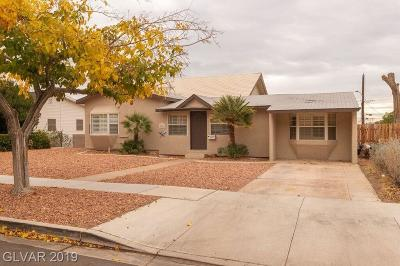 Boulder City Single Family Home For Sale: 1341 Denver Street