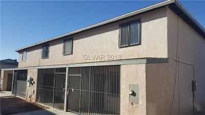 North Las Vegas Condo/Townhouse For Sale: 3508 Rio Robles Drive #C
