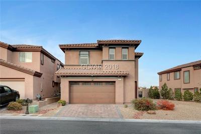 Las Vegas Single Family Home For Sale: 34 Augusta Course Avenue
