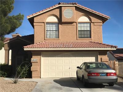 Las Vegas Single Family Home For Sale: 4820 Friar Lane