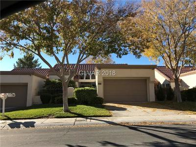Clark County Condo/Townhouse Under Contract - No Show: 8533 Willowrich Drive