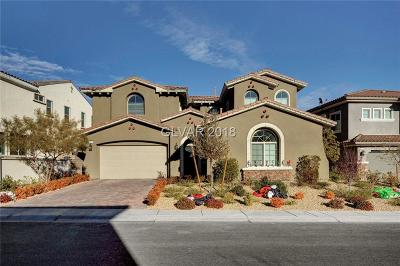 Las Vegas Single Family Home For Sale: 322 Elder View Drive