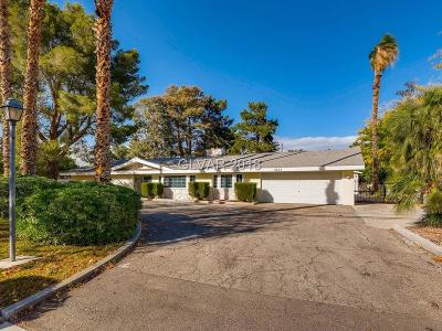 Las Vegas Single Family Home For Sale: 2804 Alta Drive