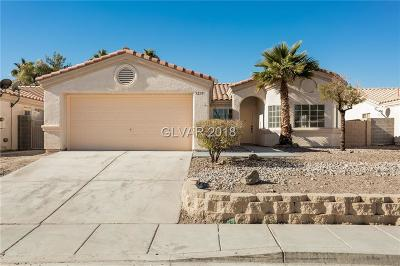North Las Vegas Single Family Home For Sale: 5235 Olive Dale Court