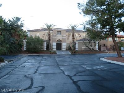 Las Vegas Single Family Home For Sale: 2743 Miller Lane