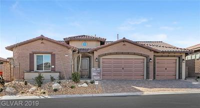 Las Vegas Single Family Home For Sale: 12143 Castilla Rain Avenue