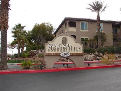 Henderson Condo/Townhouse For Sale: 2305 Horizon Ridge #3424