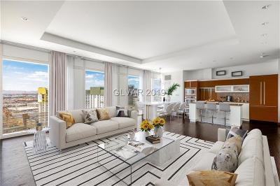Resort Condo At Luxury Buildin High Rise For Sale: 3750 South Las Vegas Boulevard #2703