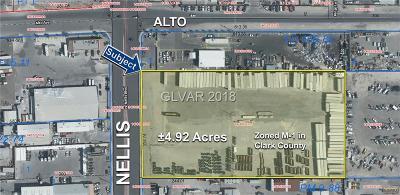 Las Vegas Residential Lots & Land For Sale: ±4.92 Acres On Nellis Blvd
