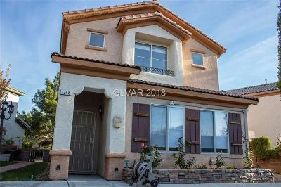 Las Vegas Single Family Home For Sale: 1345 Paseo Granada Street
