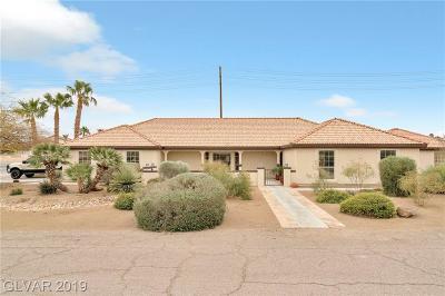 Las Vegas Single Family Home For Sale: 5695 Duneville Street